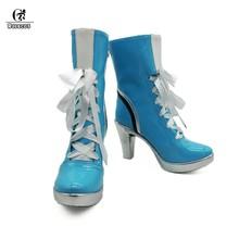 ROLECOS/Обувь для костюмированной вечеринки «Qiyana»; обувь на высоком каблуке; женская обувь «LOL Game»; Женская обувь в европейском стиле(Китай)