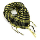 E520 Winter Warm Arab Shemagh Keffiyeh Scarves Shawls Black And White Plaid Square Wrap Towel Grid Scarf For Man Women
