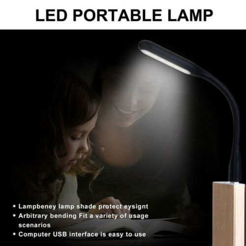 Useful Flexible Mini USB LED Lights Reading Lamp For Computer Notebook