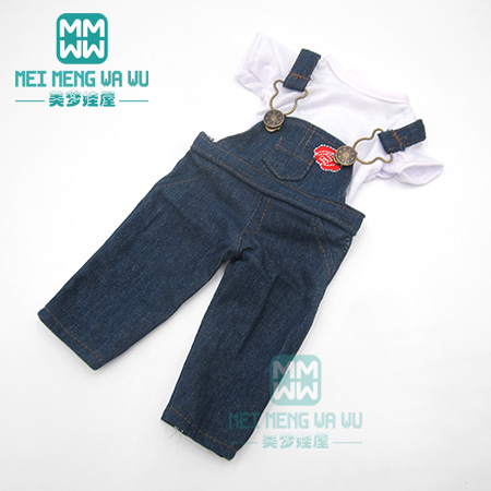 Детская Одежда для куклы, размер 43 см, аксессуары для куклы born и американская кукла, розовый меховой воротник, пальто + брюки(Китай)