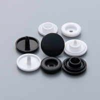 White closure garment custom clothes plastic snap buttons