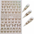 Nail Sticker Nail Art Nails 2020 New Fashion Glitter Butterfly DIY Nail Art Sticker DIY For Beauty Salon