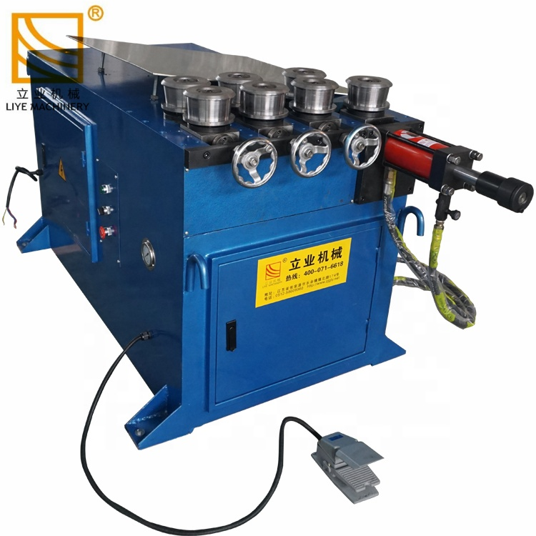 GY40 Professional price iron 7 rollers metal pipe rolling machine