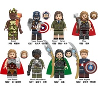 Amazon eBay Collection minifigs Blocks model Captain building bricks Marveles action figures toy for kids Holiday toyss
