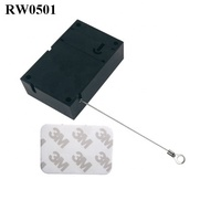 Cuboid Secure pull Reset Display Anti theft String used in retail product positioning