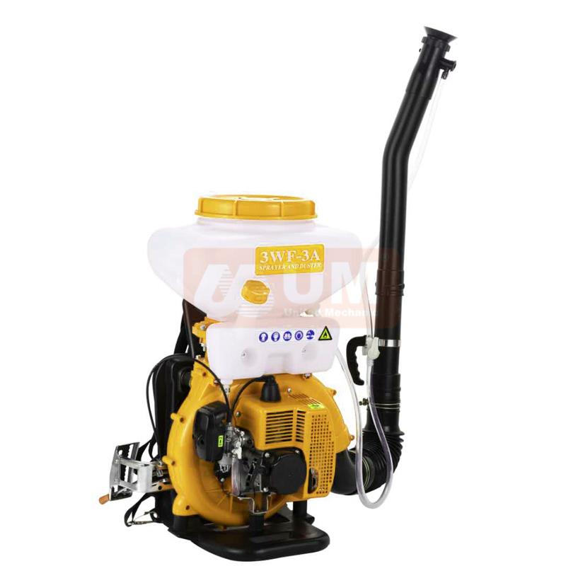 2 hub Rucksack insektizid 3WF-3A landwirtschaft sprayer, Benzin rucksack power sprayer