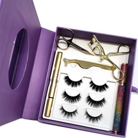 New Function Cosmetic Private Label Eyelash Eye Liner Pencil, Magic Adhesive Eyeliner Glue Pen For 3d Mink Eyelashes