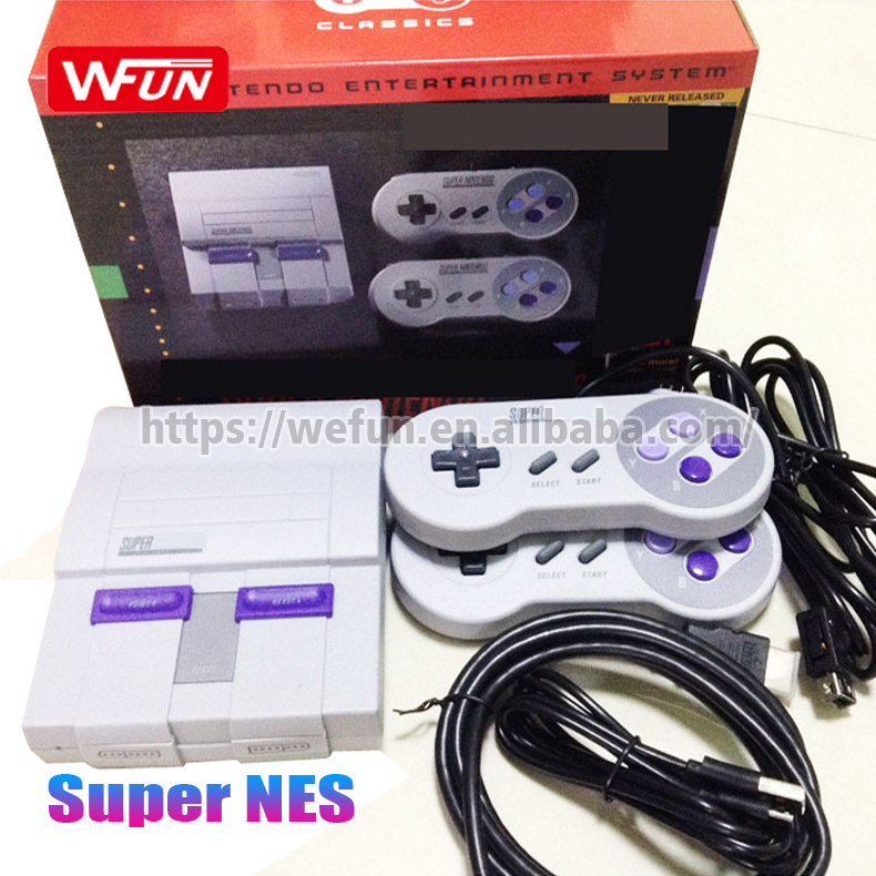 Support Super Snes Games archive Handheld Video Game Player Retro Mini TV Game Console with 21 Classic Edition Games