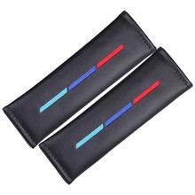 2x автомобильные аксессуары подушка для шеи сиденья подголовник на плечо ремень зазор наполнитель для BMW 1 3 5 серии E39 F30 F20 F32 X1 F48 F45/M Цвет(China)