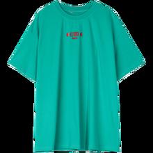 Женская футболка с забавным графическим принтом ELFSACK, зеленые повседневные футболки в стиле Харадзюку, летние корейские топы на каждый день...(China)