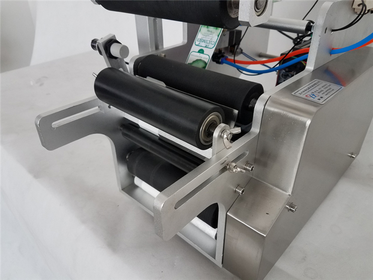 KA  SEMI automatic small paper tube labeling/abeler/crayon label machine wholesale price