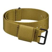 WOCCI NATO нейлоновый ремешок для часов, моющийся браслет в полоску для мужчин и женщин, 18 мм, 20 мм, 22 мм, 24 мм, прочные спортивные часы, сменные муж...(China)