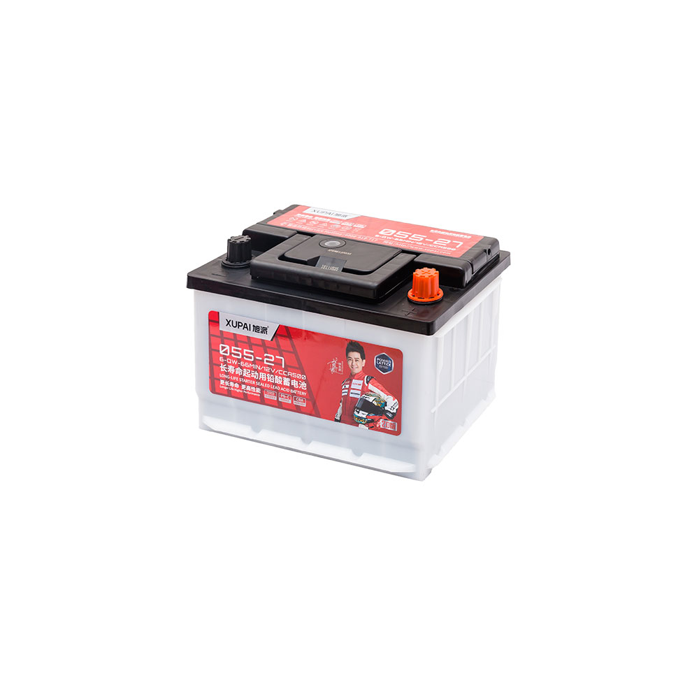 12 Volt 6-QW-86MIN/12V55AH kullanılmış araba piller 055-27 otomatik pil OEM üretim