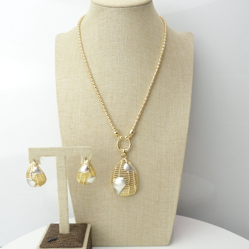 costume african jewelry sets nigerian wedding dubai 24k gold plated women jewellery sets