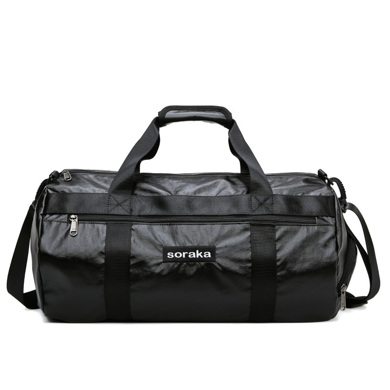 Light weight nylon Travelling  duffle Bag Holdall Weekend sports Gym Bag with side shoes pocket