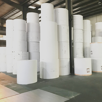 Stocklot paper white clay coated large roll duplex paper triplex board