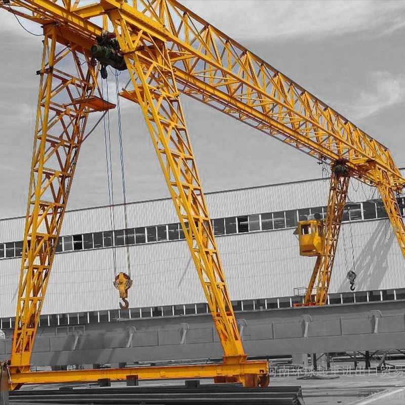ใหม่ประเภท 3 ตันบริการ Single Beam/Girder Gantry Crane Operator Jobs Manufacturing