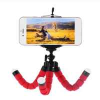 Flexible Sponge Octopus Mini Tripod With Bluetooth Remote Shutter For iPhone mini Camera Tripod Phone Holder clip stand