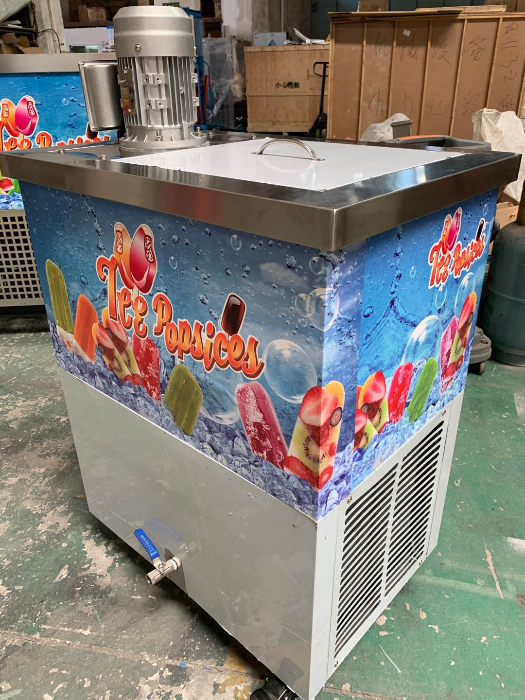 2020 New style Stick Ice Cream machine Popsicle Machine with 1 Sets Molds PBZ-01
