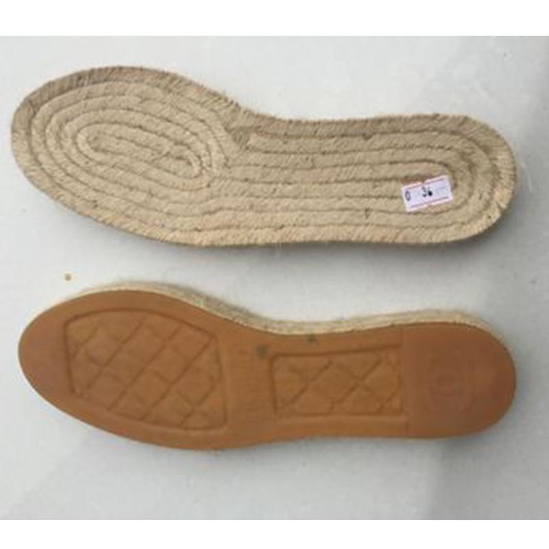 2020 espadrille đay giày duy nhất với cao su đế ngoài
