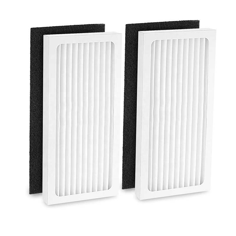Cabiclean HEPA <strong>filter</strong> with <strong>Carbon</strong> <strong>Filter</strong> Compatible with Hamilton Beach 04383 Air Purifier 04384 04385 HEPA <strong>Filter</strong>