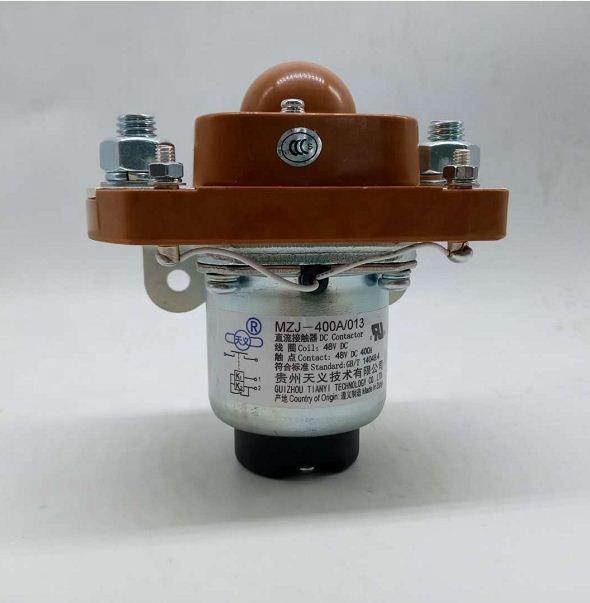 MZJ 400A 12v 24v 30v 48v 48v dc interruptor solenoide precio carretilla elevadora contactor relé sólo BM origen sicne 1965 para camión