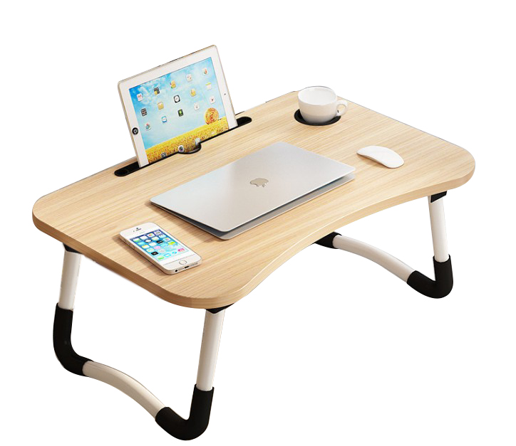 2020 Home Working Multi-functional Folding Portable Wooden Computer Desks <strong>Laptop</strong> <strong>Table</strong> for Use Bedroom
