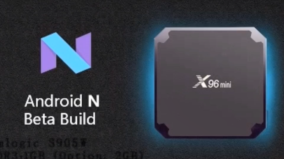 TOPLEO 빠른 배달 X96 미니 Amlogic S905W 1GB 8GB 4K 안드로이드 7.1 스마트 tv 셋톱 박스