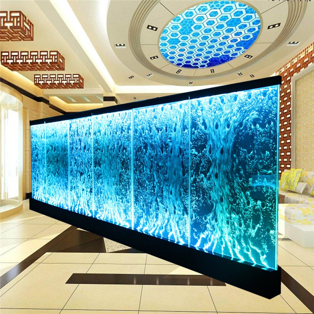 Customized indoor water bubble wall/panel for banquet hall wall decoration