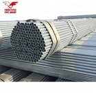 Q235 galvanized steel pipe plain end