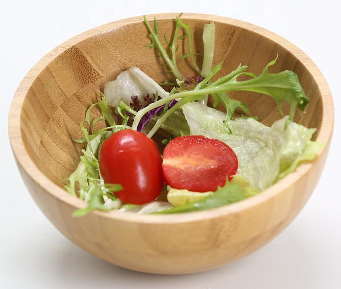 Bamboo Fruits Wood Salad Bowls MSL Details 5