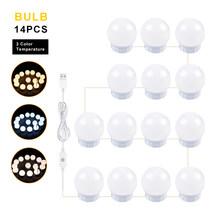 Светодиодная полосная лампа, настенный светильник, USB, косметическое зеркало, туалетный столик, современный, для ванной комнаты, водонепрон...(Китай)