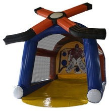 Inflatable Hockey Arena/Baku Tembak <span class=keywords><strong>Hoki</strong></span> Inflatable/Inflatable <span class=keywords><strong>Hoki</strong></span> SLAP Shot Game