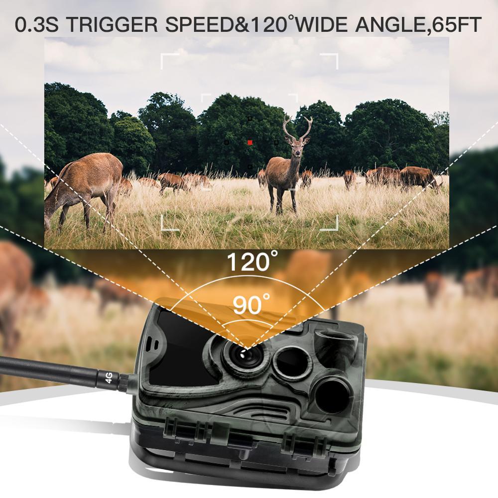 4G  Hunting Camera HC-801LTE 1080P GMS MMS