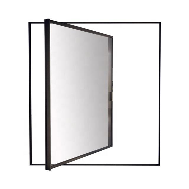 नवीनतम डिजाइन एल्यूमीनियम इन्सुलेट गिलास सामने प्रवेश द्वार धुरी दरवाजा