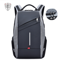 MTA Anti-theft USB Reflective Quality 15.6 Laptop Backpack for Men