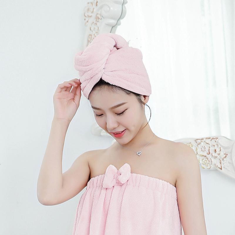 Good Sales Water-absorbing bamboo hair towel,hair wrap towel,hair dry towel for Women