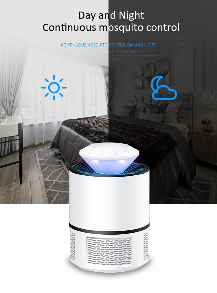 Mosquitoes Trap Repellent Electric Electronic Machine Anti Killing Zapper Usb Led Mosquito Killer Lamp