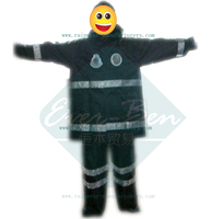 Policeman Reflective rain jacket and pants set rain suit for motorcycle riders
