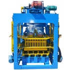 QTJ4-25 new concrete hollow block brick making machine price