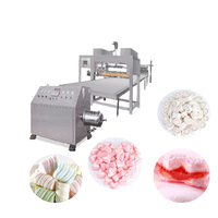 High-tech automatic marshmallow cotton candy production line