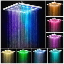 Светодиодный светильник с 3 режимами распыления ручной душевой головки, цифровой контроль температуры душа, водосберегающий фильтр для душ...(Китай)