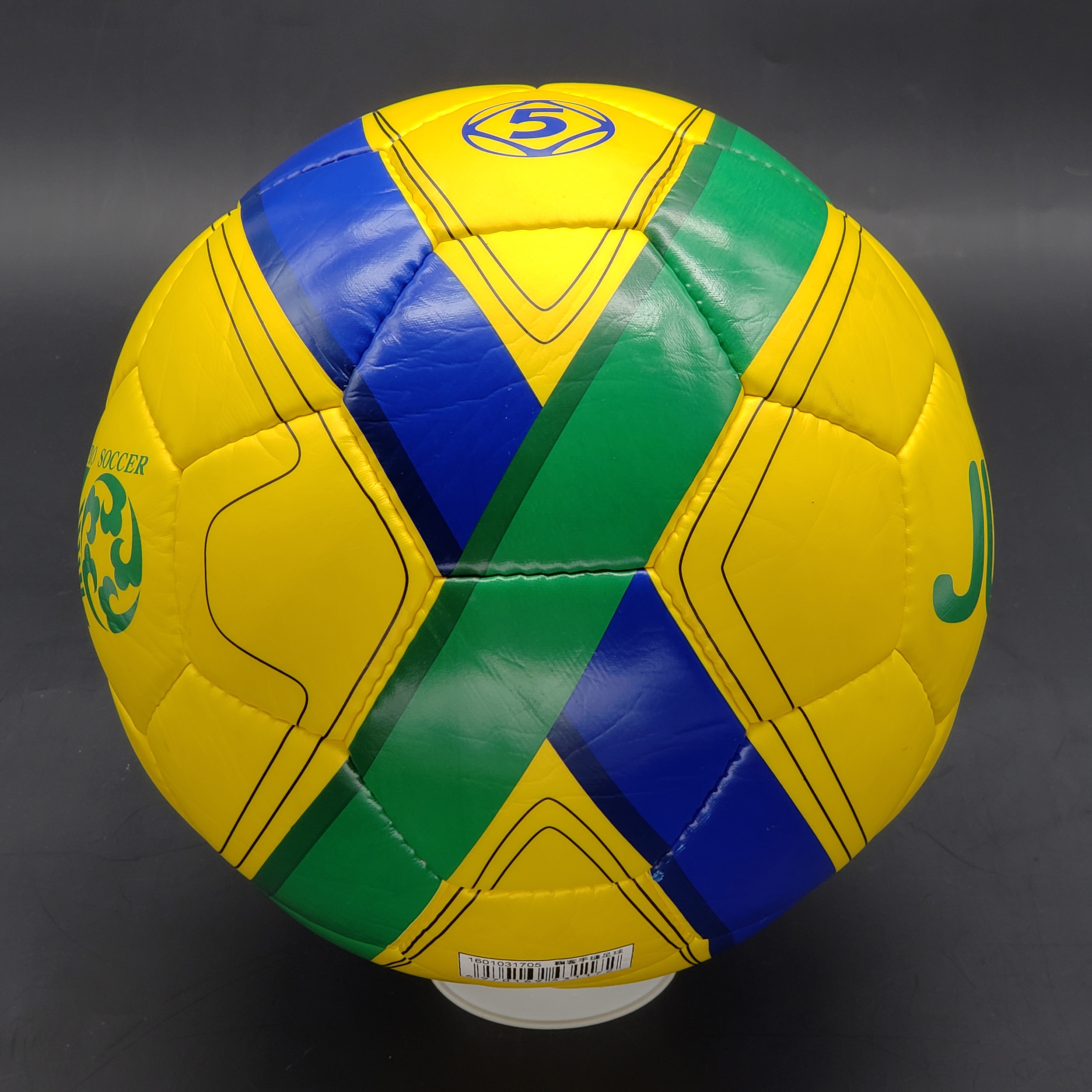BEWE High Quality Colorful PU Hand Sewing Soccer Ball Size 5 <strong>Football</strong> for Match