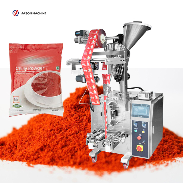 Automatic small sachets spice chilli powder filling packing machine price