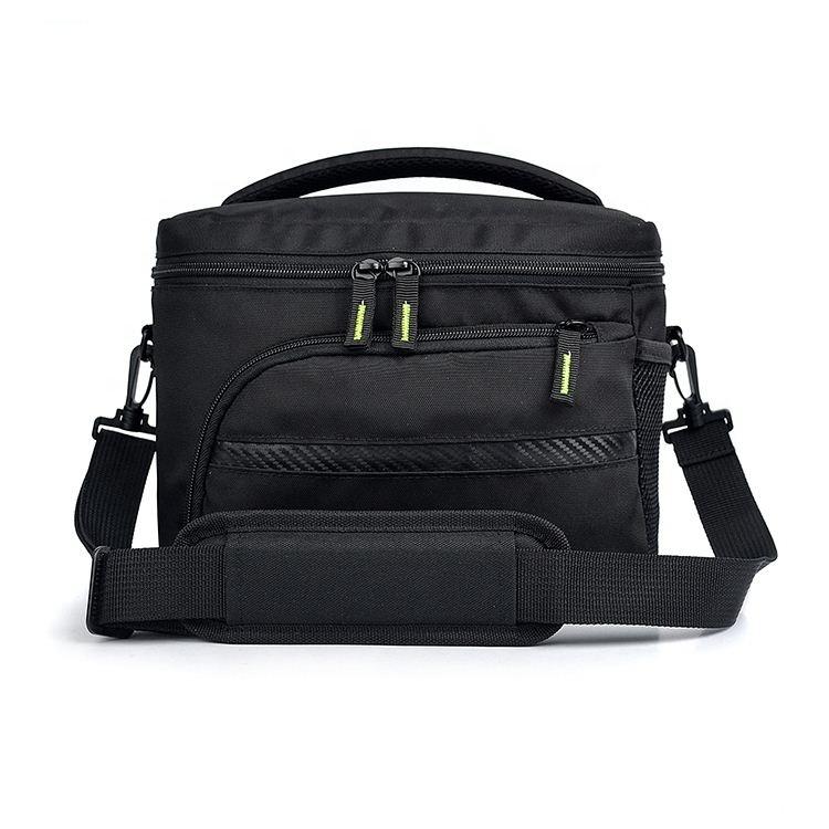 Haute qualité noir en nylon de loisirs sac de caméra vidéo dslr
