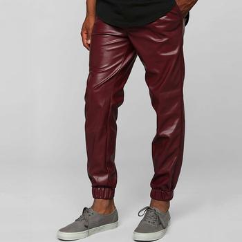 Moda Uomo Jogger Pantaloni Peso Leggero Ecopelle Jogger Pantaloni Da Jogging Pantaloni All'ingrosso Colore Su Misura Pent Per Gli Uomini Buy