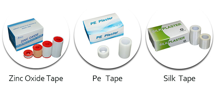 Medical Adhesive Surgical Microporous Tape Non Woven Paper Tape