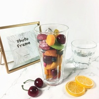 Drinkware glass cup wholesale machine made 12 oz drinking glass