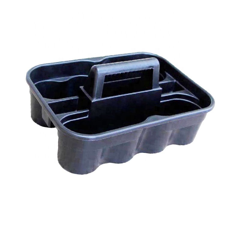 ESD Plastic Utility Cleaning Tool Caddy With Handle
