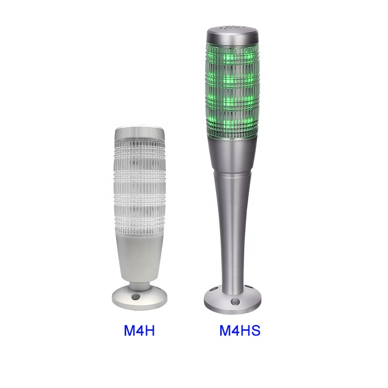 M4H-A Aluminium Lipat Dasar Menara LED Warning Light